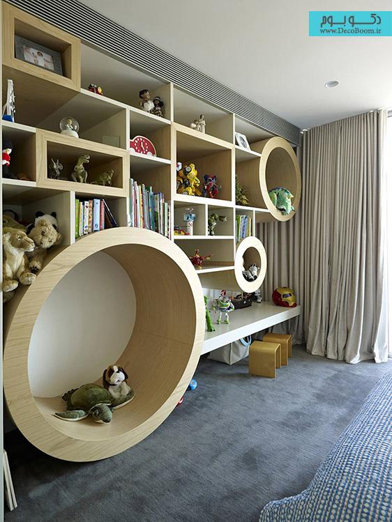 دکوراسیون داخلی اتاق کودکان، طراحی داخلی اتاق کودک