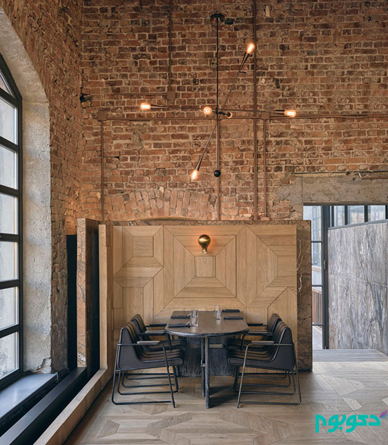 طراحی داخلی شعبه ی مجموعه رستوران های کلیمانجارو