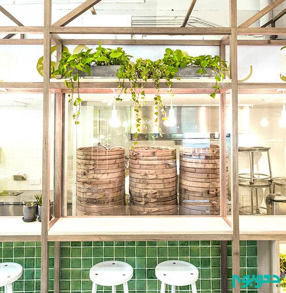 طراحی دلباز رستوران BAOBAO در شانگهای