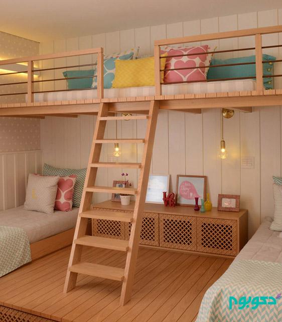 طراحی اتاق خواب دخترانه در سائوپائولو