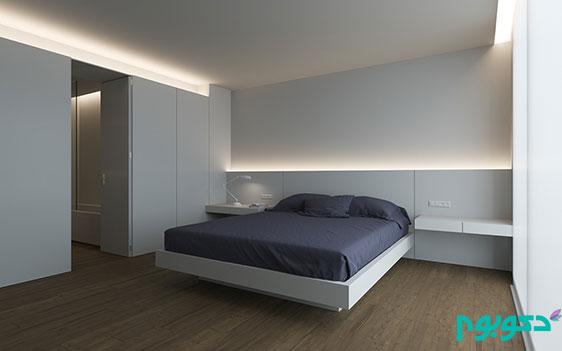ایده های خیره کننده برای نورپردازی اتاق خواب