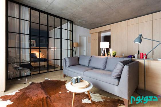 دکوراسیون داخلی آپارتمان های دنج کوچک