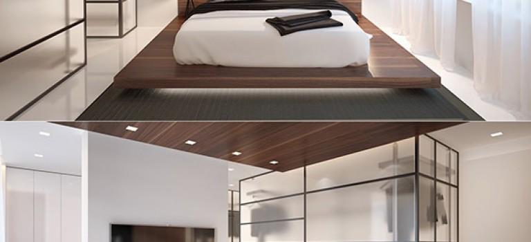 دکوراسیون اتاق خواب مدرن – بخش ۱