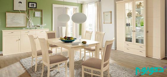 طراحی های مدرن برای اتاق غذا خوری