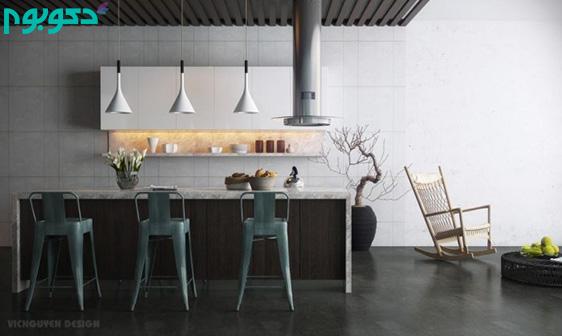 نوروز با دکوبوم، چیدمان آشپزخانه گالری شکل