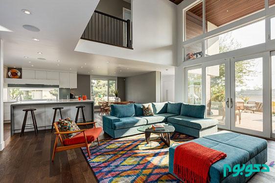 طراحی داخلی خانه کانادایی