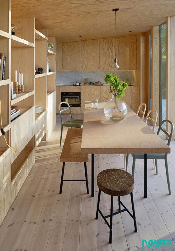 طراحی داخلی خانه به سبک چینی در سوئد