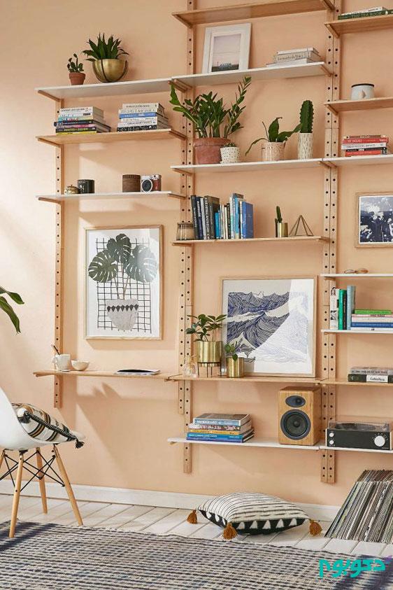 قفسه های دیواری خلاقانه