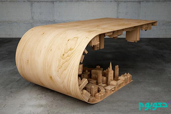 3 میز با طراحی منحصر به فرد