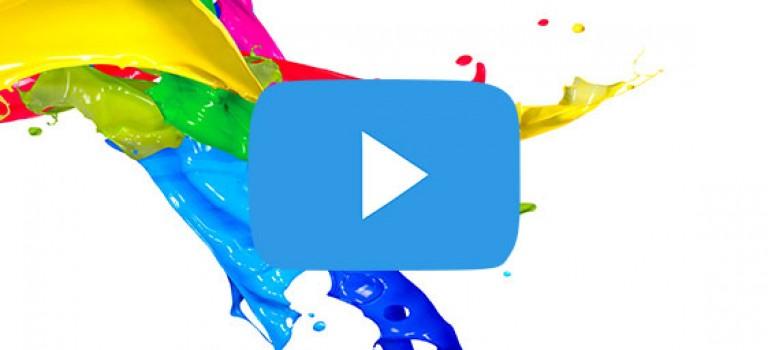 ویدیو خلاقیت در رنگ آمیزی دیوار