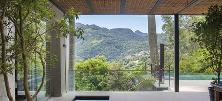 طراحی داخلی خانه استخری ییلاقی
