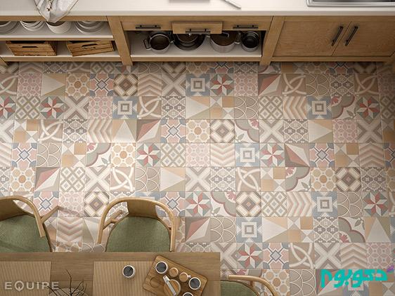 طرح های چهل تکه ی خیره کننده در دکوراسیون منزل