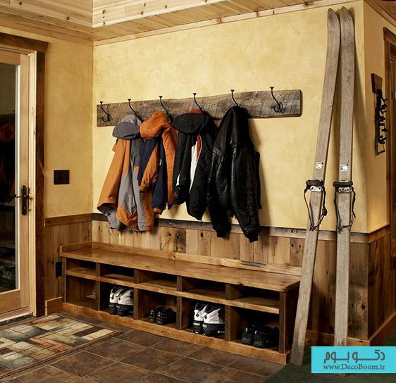 دکوراسیون داخلی فضای ورودی خانه