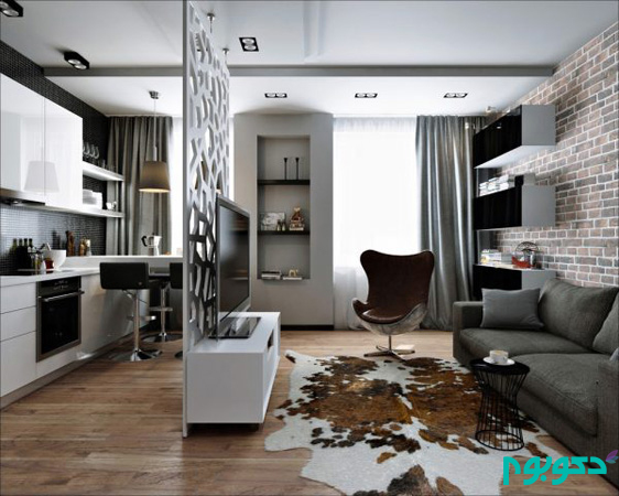 خلاقیت در دکوراسیون داخلی آپارتمان با محدودیت متراژ (قسمت هجدهم)
