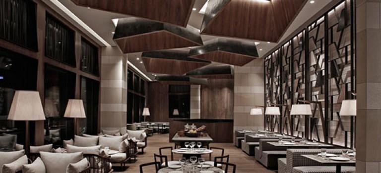 طراحی داخلی رستوران لوکس هونگ کونگی
