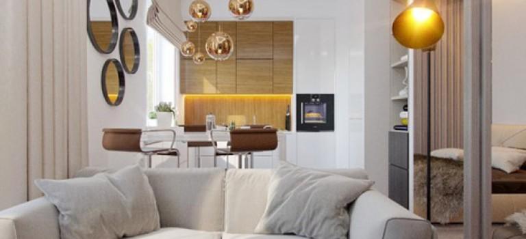 دکوراسیون داخلی آپارتمان با مساحت ۲۷ متر مربع (قسمت سوم)