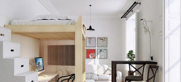 خلاقیت در دکوراسیون داخلی آپارتمان با محدودیت متراژ (قسمت چهارم)