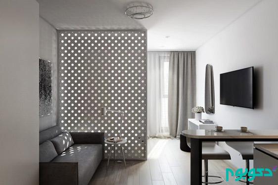 خلاقیت در دکوراسیون داخلی آپارتمان با محدودیت متراژ (قسمت اول)