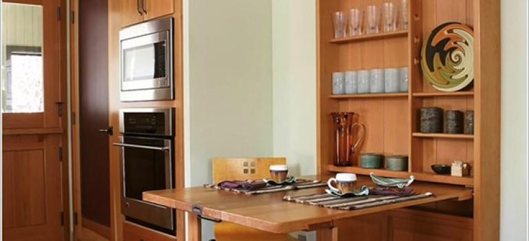 میزهای ناهارخوری کم جا برای فضاهای کوچک