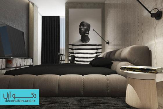 بخش اول : دکوراسیون داخلی منزل با استفاده از رنگ های تیره و خنثی