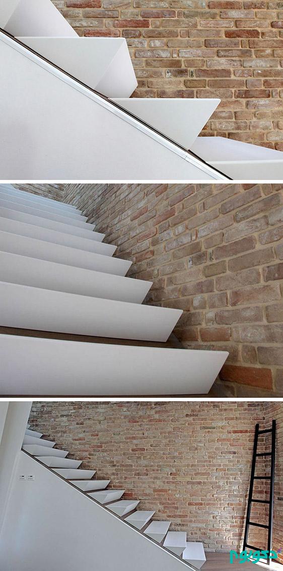 طراحی جالب و متفاوت پله