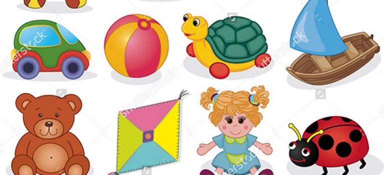 چیدمان اسباب بازی کودکان در دکوراسیون داخلی اتاق