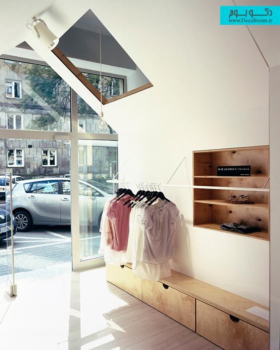 دکوراسیون داخلی فروشگاه، طراحی داخلی تجاری