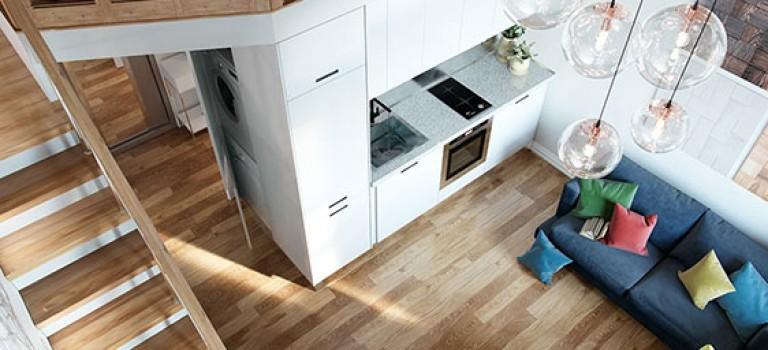 خلاقیت در دکوراسیون داخلی آپارتمان با محدودیت متراژ (قسمت دهم)