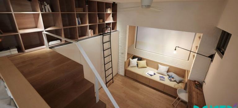 خلاقیت در دکوراسیون داخلی آپارتمان با محدودیت متراژ (قسمت چهاردهم)