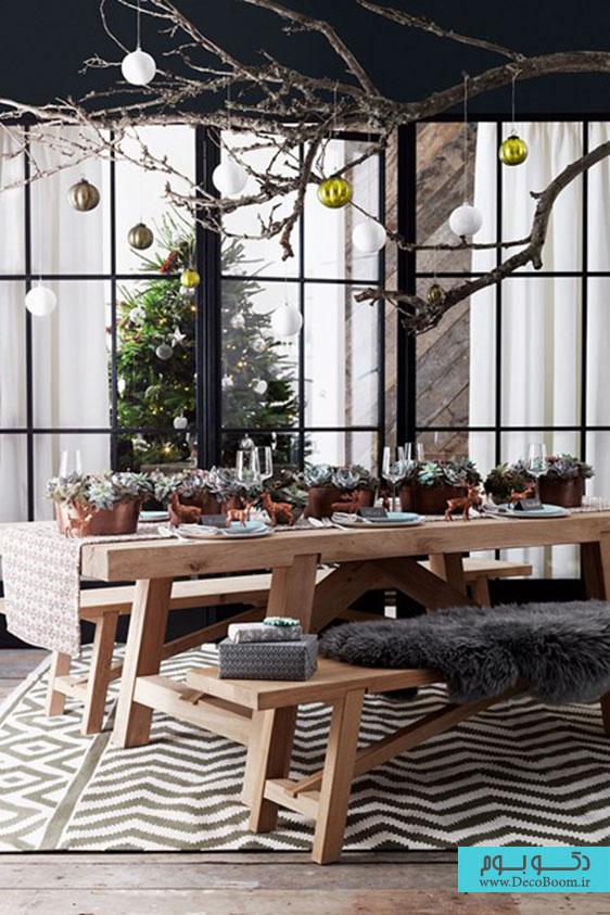دکوراسین داخلی خانه؛ ایده های کریسمسی