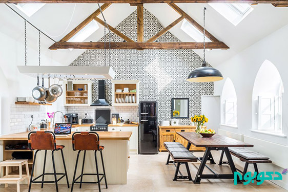 دکوراسیون داخلی خانه ای در انگلستان
