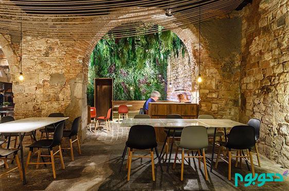 طراحی داخلی رستوران به سبک قرن 16