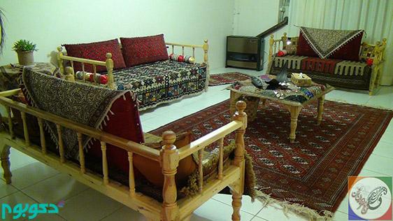 چیدمان و دکوراسیون سنتی ایرانی
