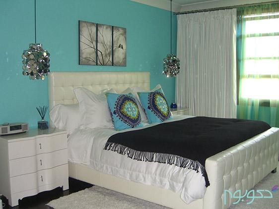 آبی فیروزه ای، شگفتی در دکوراسیون داخلی منزل