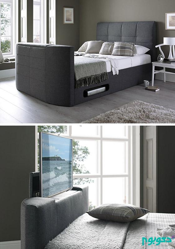 8 راه برای قرارگیری تلویزیون در اتاق خواب