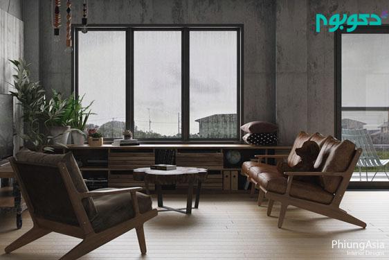 معماری داخلی به سبک بی نظیر آسیایی