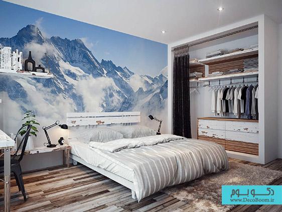 طرح های دیواری، حس اعجاب انگیز زمستان
