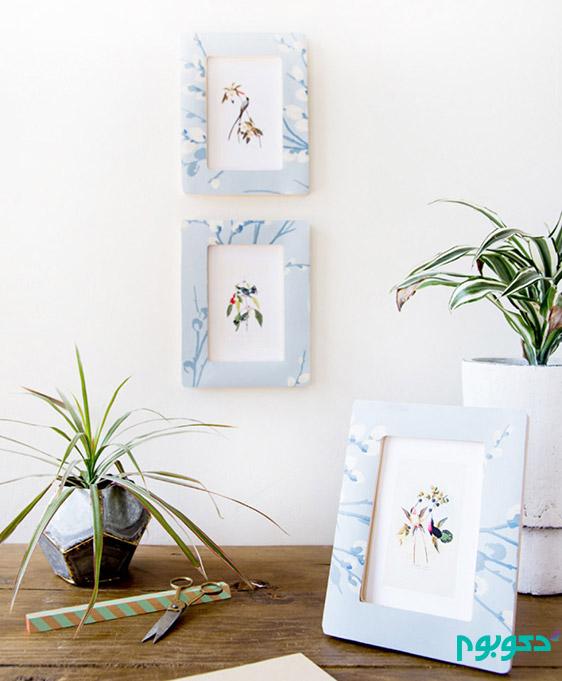 خلاقیت با کاغذ دیواری در دکوراسیون داخلی منزل