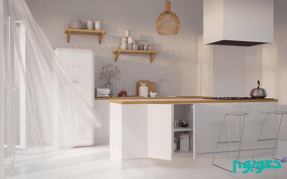 آشپزخانه ای به جذابیت سبک اسکاندیناوی