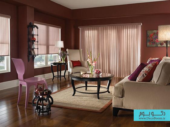 نقش پرده و کرکره در دکوراسیون داخلی منزل