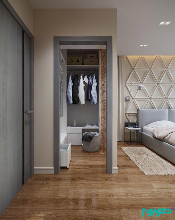رنگ، فُرم و نور در طراحی داخلی این آپارتمان جذاب