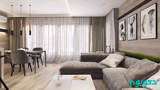 دکوراسیون منزل و گرمای دیوار های چوبی