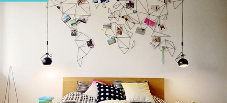 طراحی خلاقانه دیوار خاطرات!