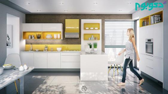 نوروز با دکوبوم: چیدمان آشپزخانه