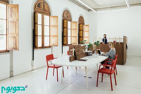 شیوه ای نوین در فضاسازی محیط های اداری