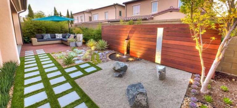 طراحی محوطه خانه، برگرفته از طبیعت