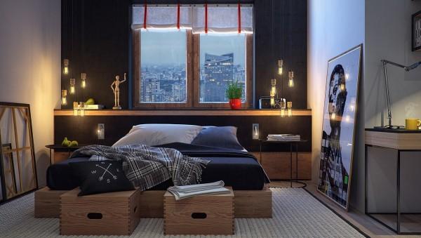اتاق خواب نوجوان، ساده و جذاب