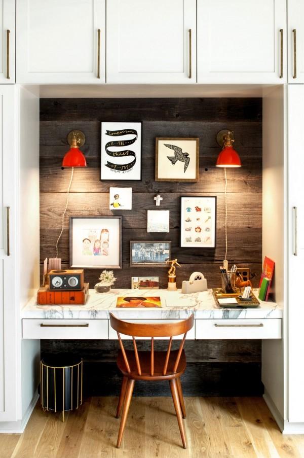 دکوراسیون داخلی دفتر کار خانگی