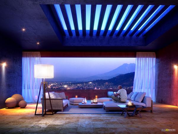 اتاق نشیمن به سبک مدرن