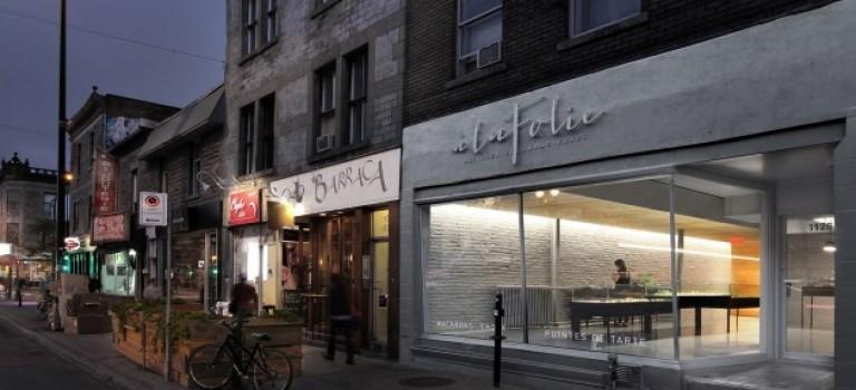 دکوراسیون مغازه شیرینی فروشی